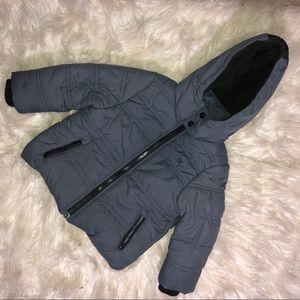 Grey Calvin Klein Winter Coat